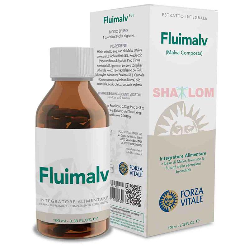 ESPAGIRIA MALVA COMPOSTA  FLUIMALV 100 ML