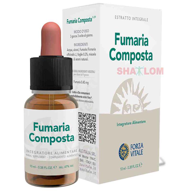ESPAGIRIA FUMARIA COMPOSTA 10 ML