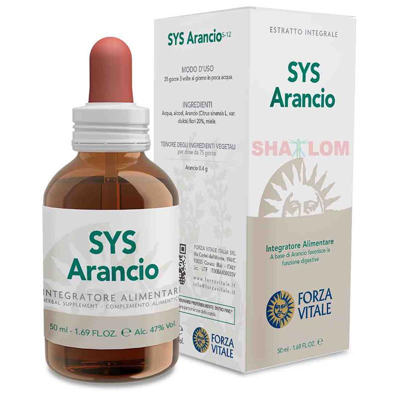 ESPAGIRIA ARANCIO PLUS  50 ML