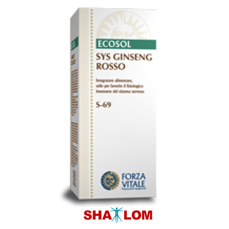 ESPAGIRIA GINSENG ROSSO