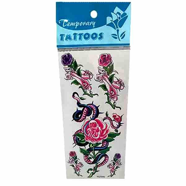 Tatuajes Temporary Flor