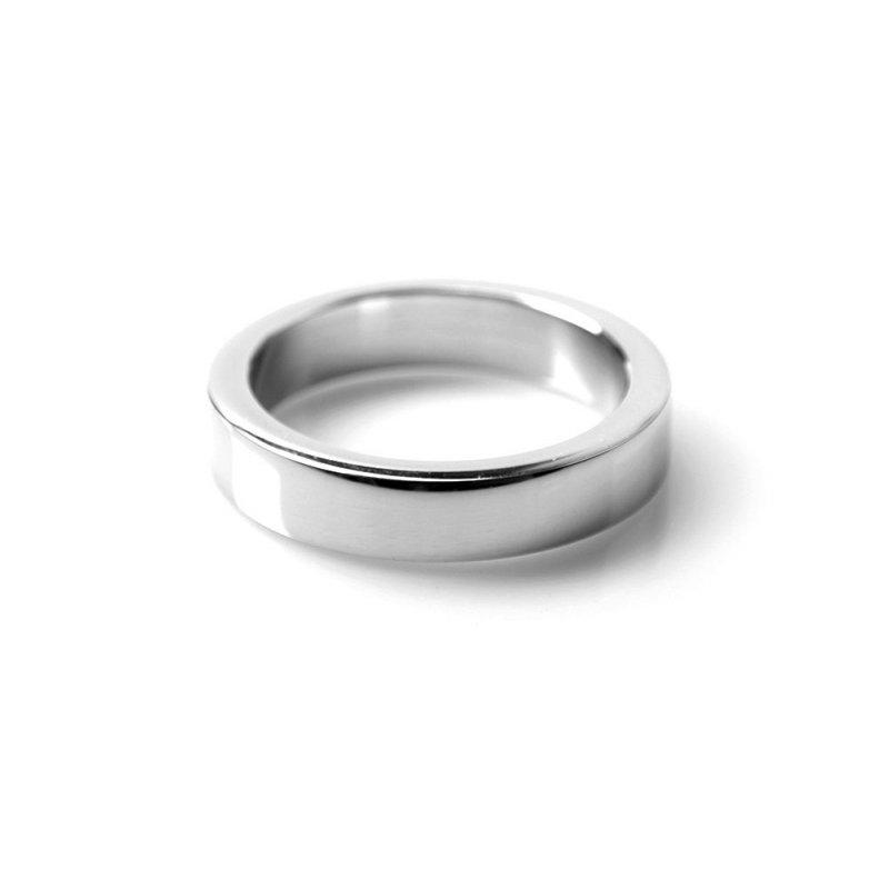 Anillo Metal 10 mm. Kiotos Steel 52,5 mm