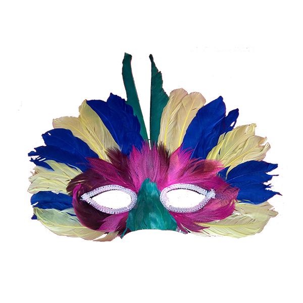Máscara Plumas