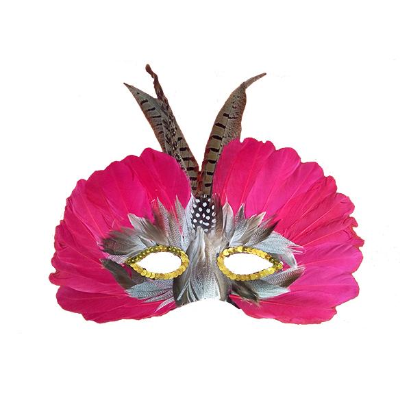 Máscara De Plumas