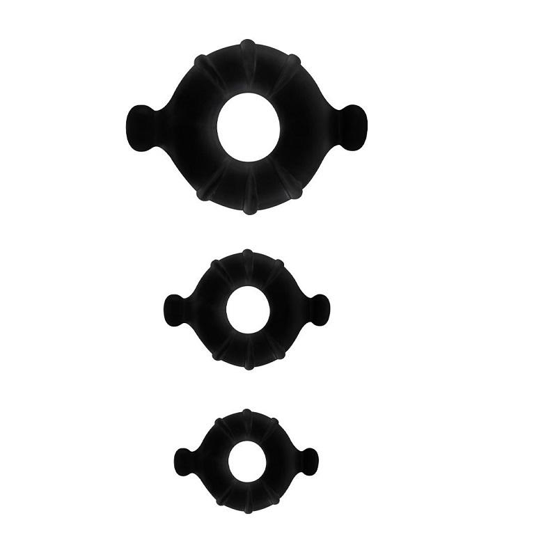 Kit 3 Anillos Gummy Rings