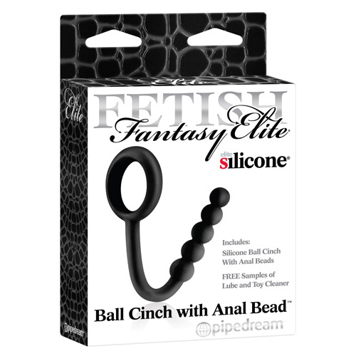 Ball Cinch With Anal Bead De Fetish Fantasy Elite