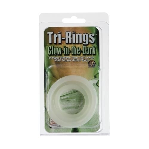 Set Anillos Tri-Rings Fluorescentes