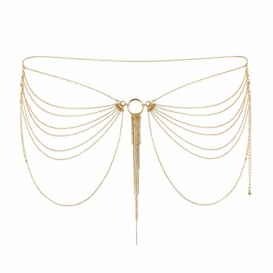 Accesorio Bijoux Cadenas Doradas Cintura