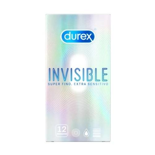Caja 12 Preservativos Durex Invisible Extrafino 12