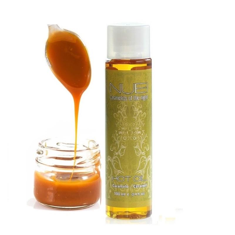 Aceite Masaje Hot Oil Caramelo Nuei 100 ml