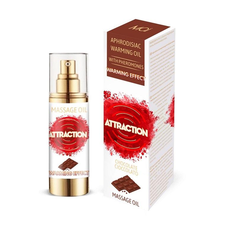 Aceite Afrodisíaco Feromonas Calor Attraction Chocolate