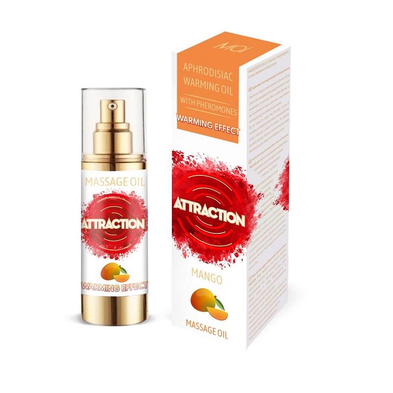 Aceite Afrodisíaco Feromonas Calor Attraction Mango