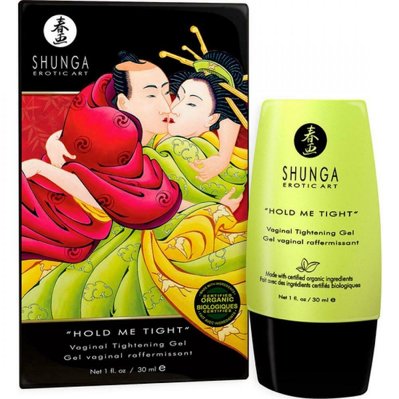 Gel Estrechamiento Hold Me Tight De Shunga 30 ml
