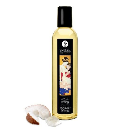 Aceite Erotic Massage Oil Adorable Coco Shunga 250 ml