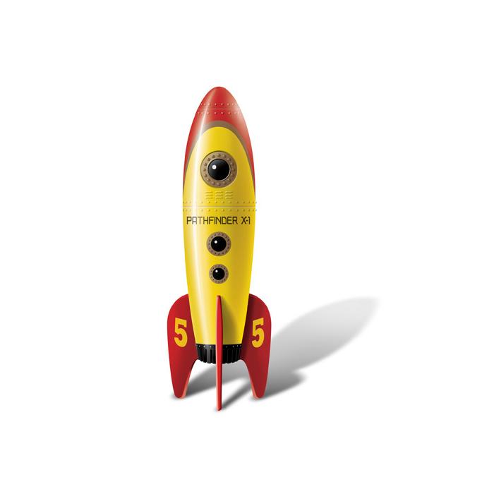 Mini Vibrador Retro Pocket Rocket