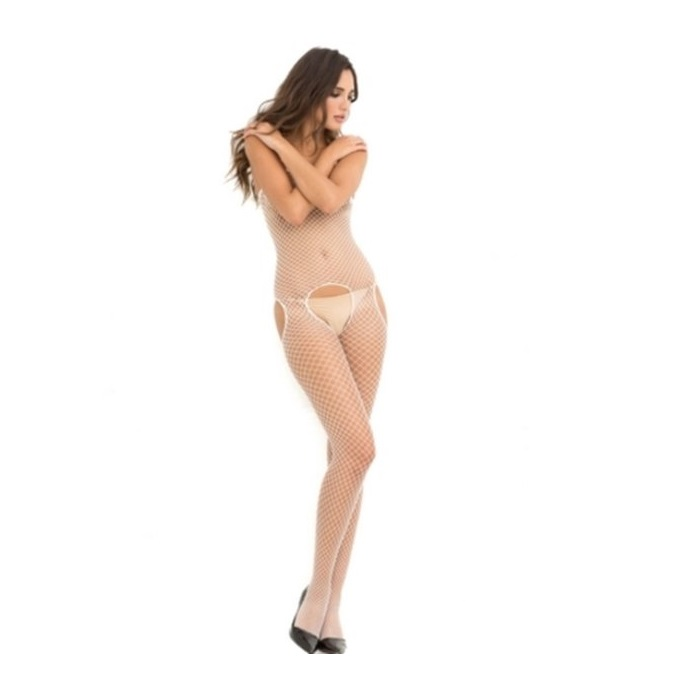 Bodystocking  Crotchless Rene Rofé 7002