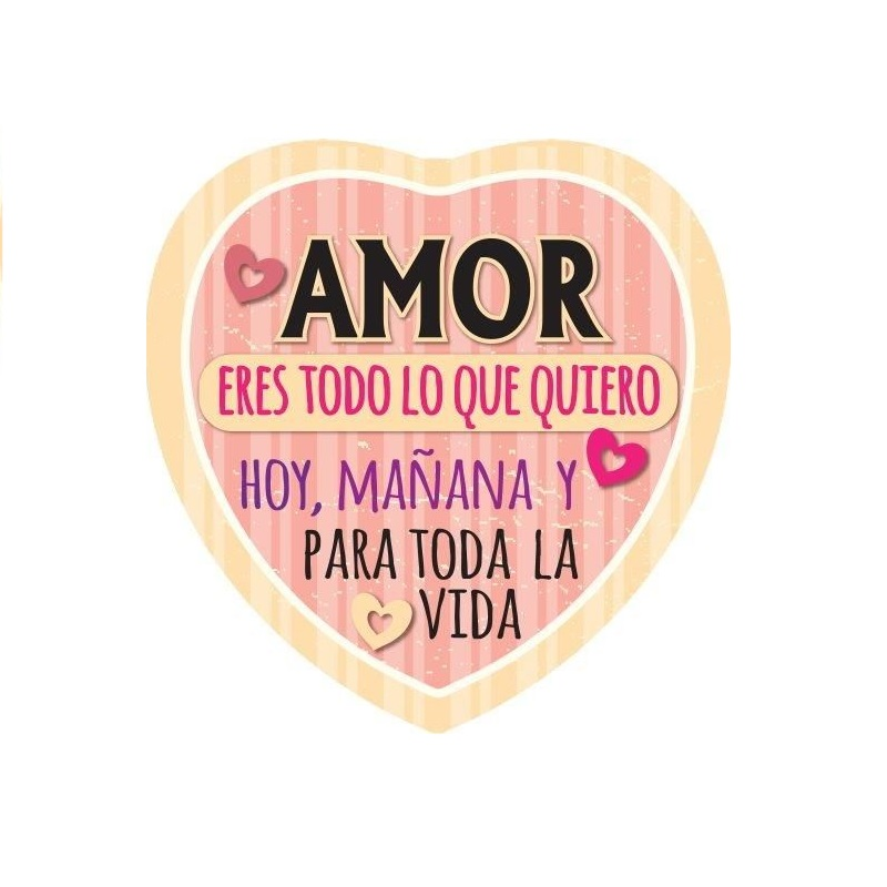 Imán Amor Eres Todo Lo Que Quiero...