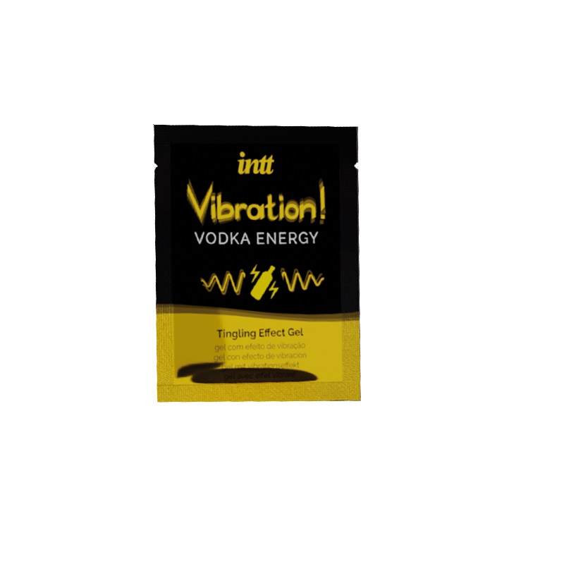 GEL EFECTO VIBRATION VODKA INTT 5 ML