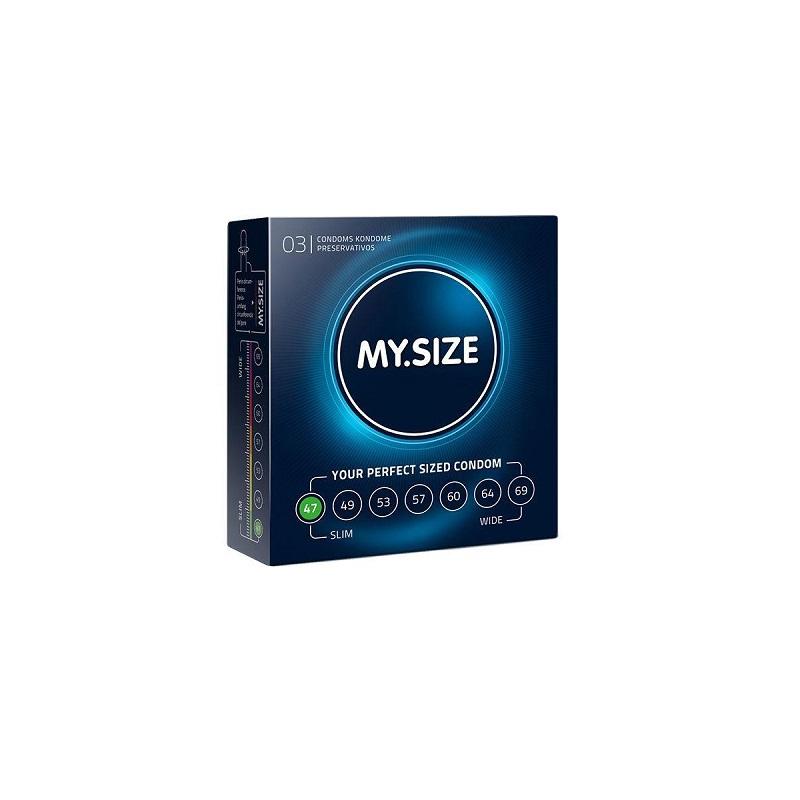MY.SIZE 3 preservativos Talla 47