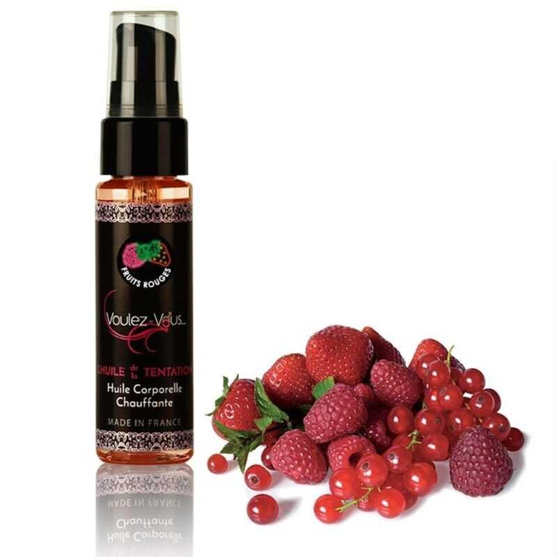 Aceite Efecto Calor Frutos Rojos Voulez-Vous 35 ml