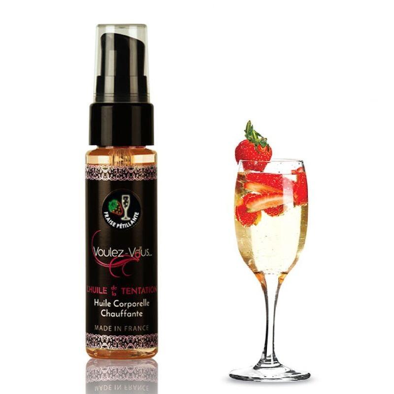 Aceite Efecto Calor Fresas y Cava Voulez-Vous 35 ml