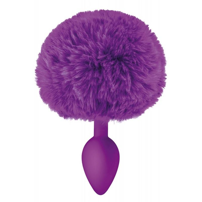 Plug Pompon Sweet Caress Violeta