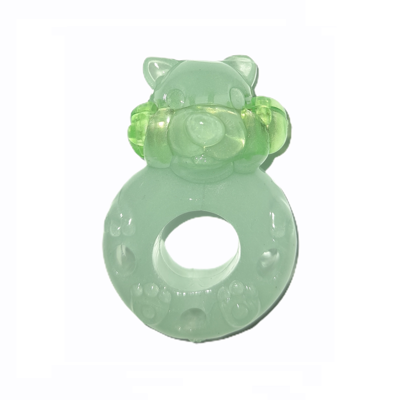 Anillo Vibrador Bear Fluorescente Adrien Lastic