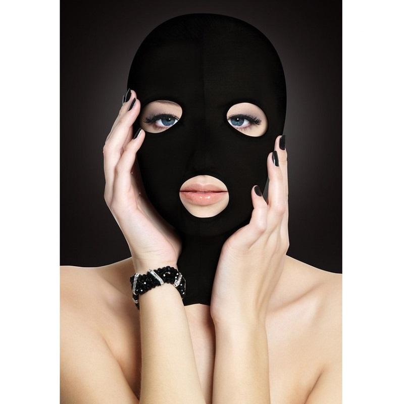 Capucha Sumisión Ouch Abertura Boca Y Ojos Subversion Mask Negra