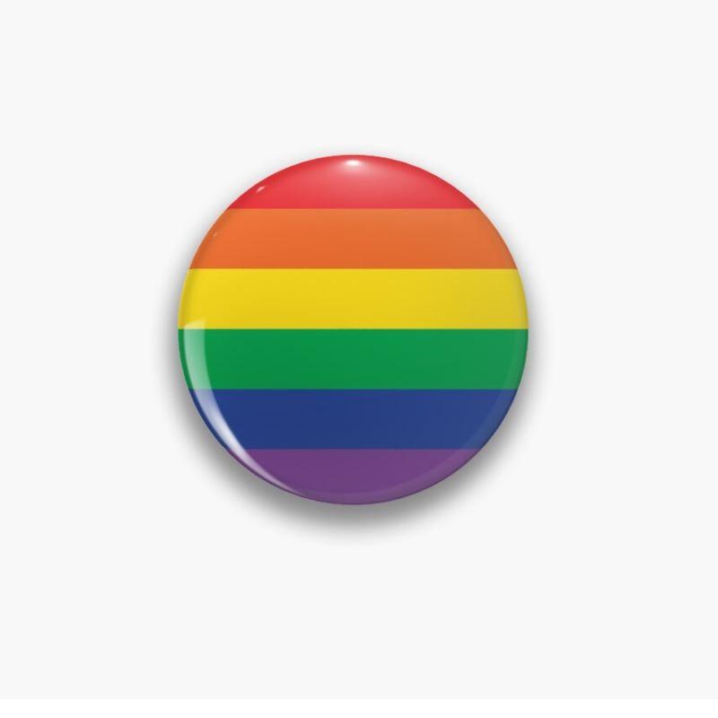Chapa 60 mm. Multicolor Orgullo LGBTI