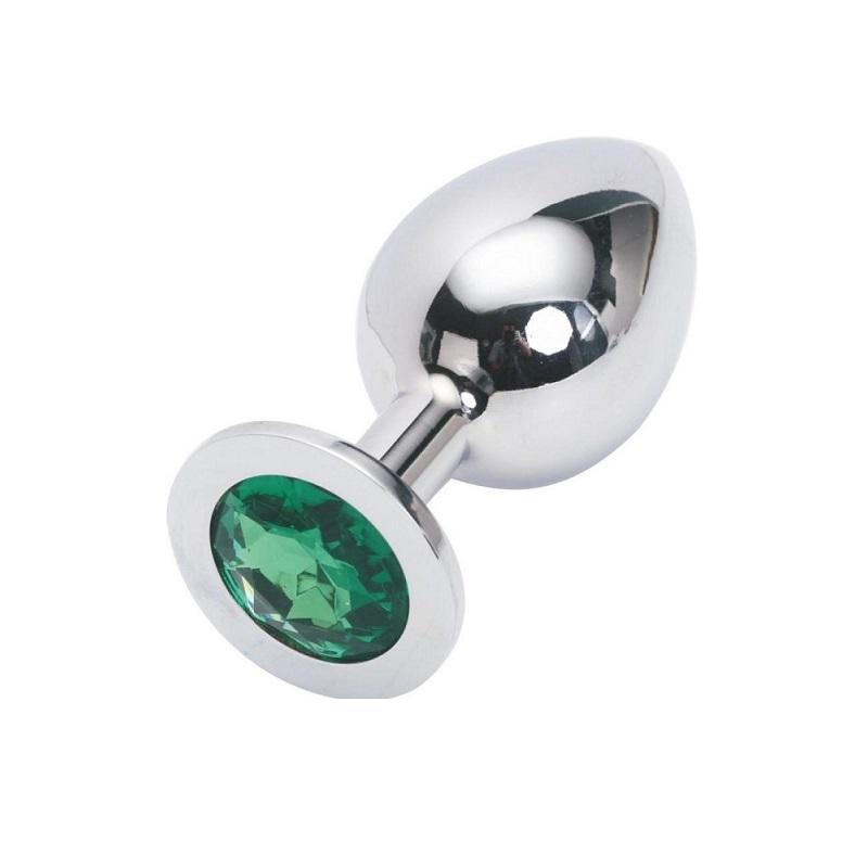 Plug Metal Joya Verde Talla L Nezend