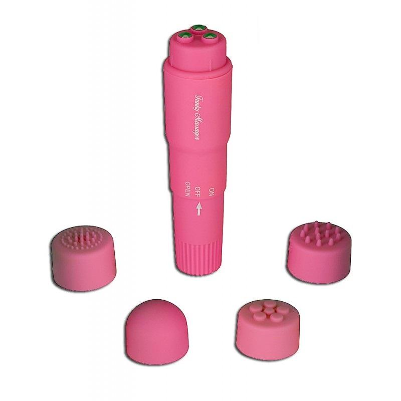 Estimulador De Pilas 4 Cabezales Funky Massager Toy Joy