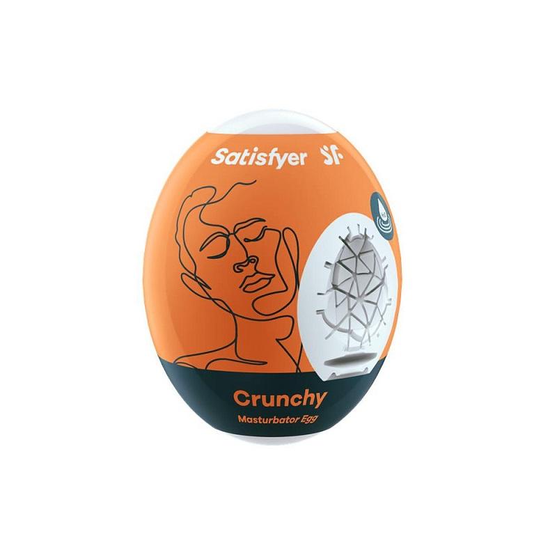 Huevo Masturbador Satisfyer Egg Single Crunchy