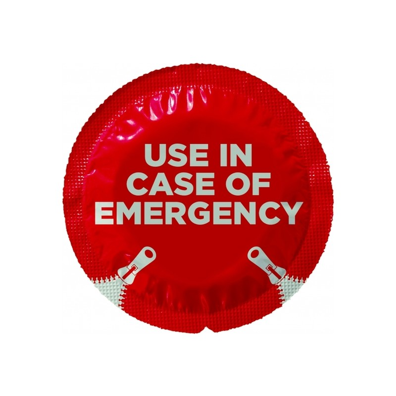 Preservativo Use in case of emergency