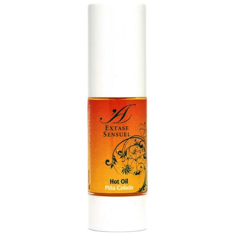 Aceite Masaje Hot Oil Extase Sensuel Piña Colada 30 ml