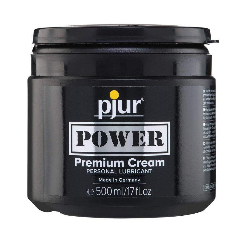 Crema Lubricante Híbrido Pjur Power Premium 500 ml