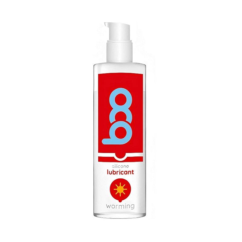 Lubricante Boo Silicona Efecto Calor 50 ml