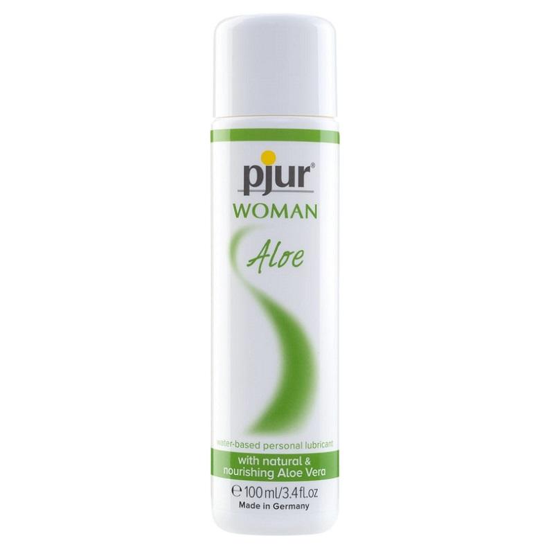 Lubricante a Base de Agua Pjur Woman Aloe 100 ml