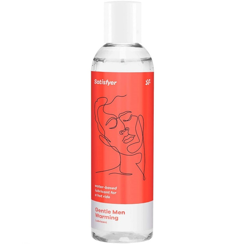 Lubricante a Base de Agua Satisfyer Men Calor 300 ml.