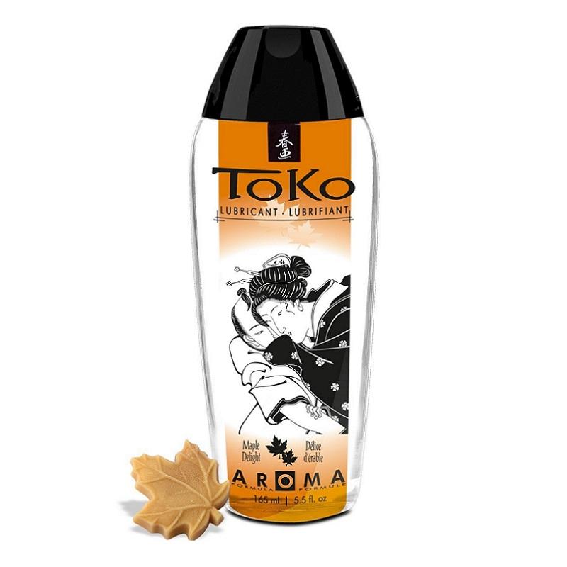 Lubricante Toko con Sabor a Sirope De Arce 165 ml