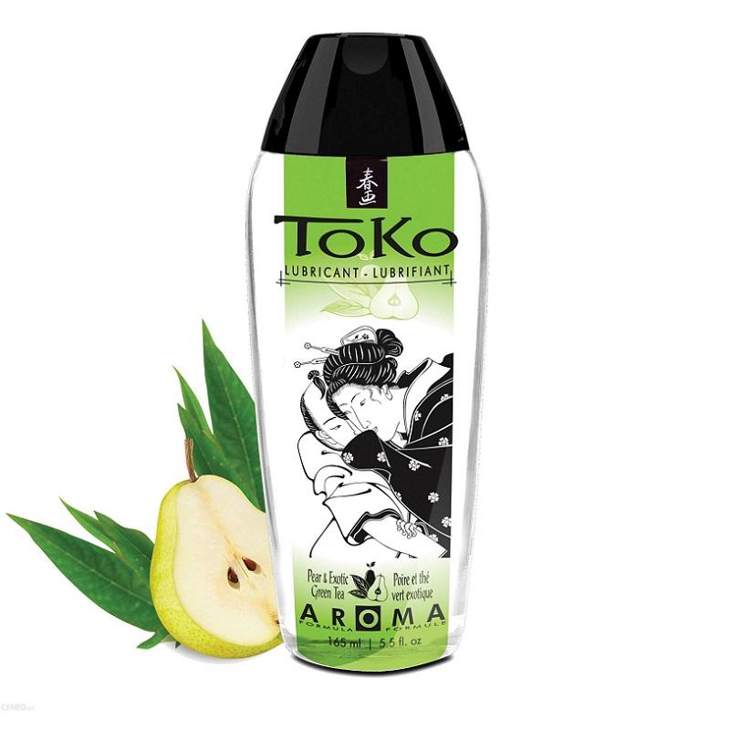 Lubricante Toko con Sabor a Pera Y Té Verde 165 ml