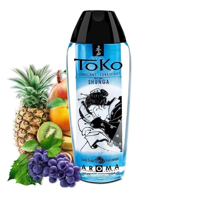 Lubricante Toko con Sabor a Frutas Exóticas 150 ml