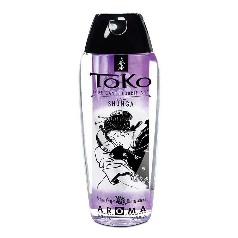 Lubricante Toko con Sabor a Uvas Sensuales 165 ml