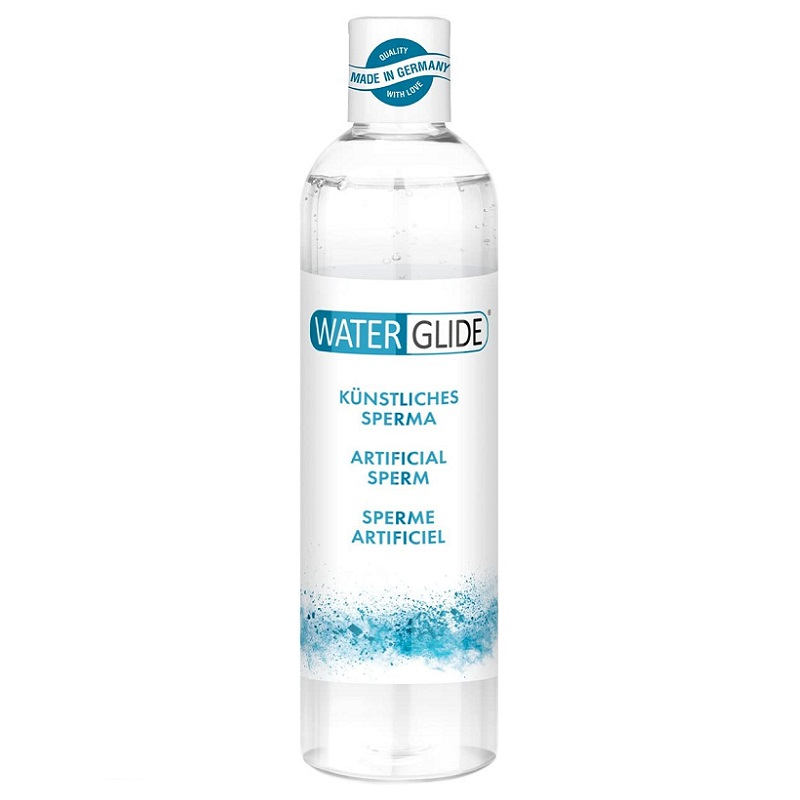 Lubricante a Base de Agua WaterGlide Artificial Esperma 300 ml
