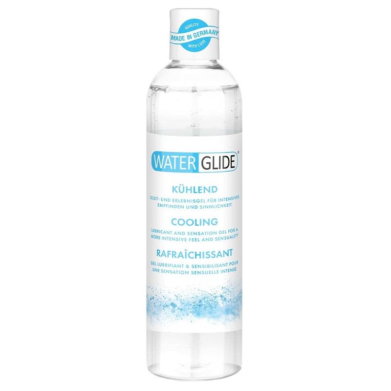 Lubricante a Base de Agua WaterGlide Efecto Frío 300 ml