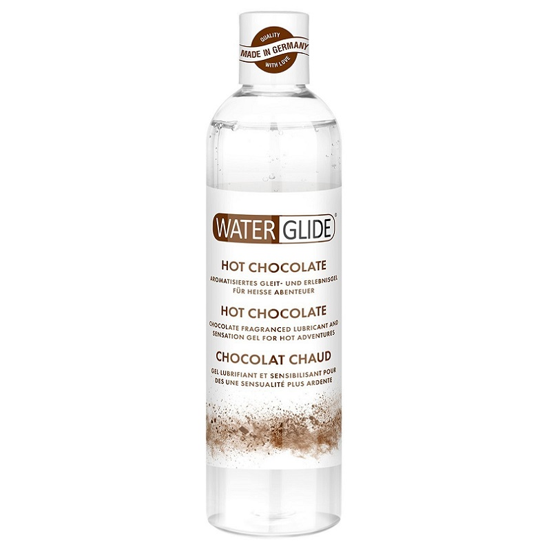 Lubricante WaterGlide Chocolate 300 ml.