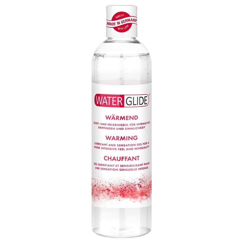 Lubricante a Base de Agua WaterGlide Efecto Calor 300 ml
