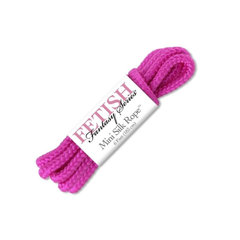 Atadura Cuerda Mini Silk Rope 183 cm Rosa