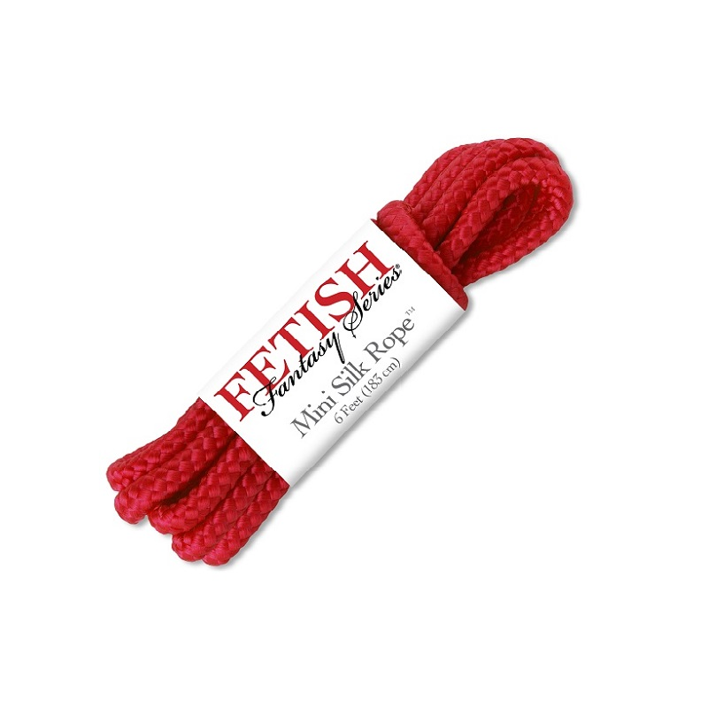 Atadura Cuerda Mini Silk Rope 183 cm Roja