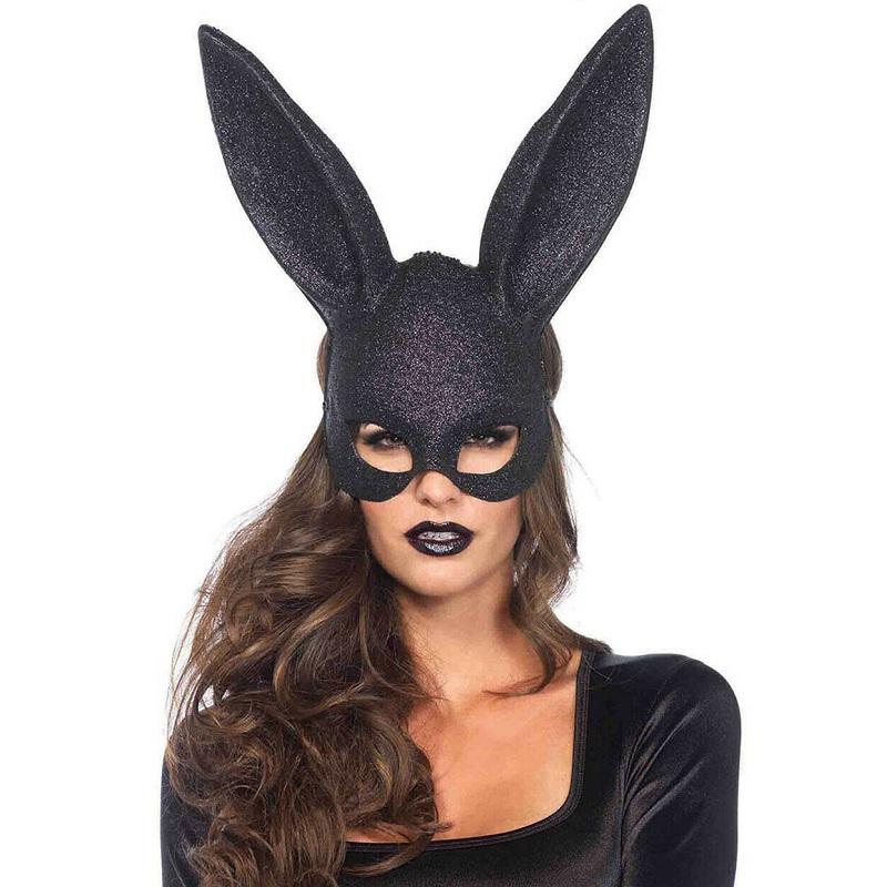 Máscara Conejo Purpurina Leg Avenue