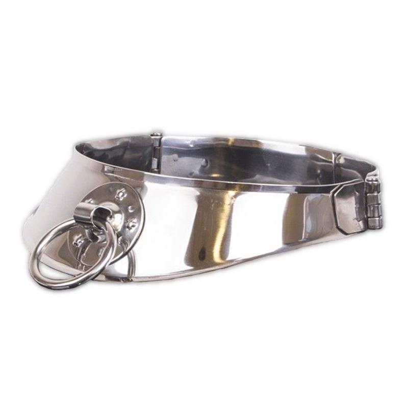 Collar De Restricción Metal Hard Con Anilla